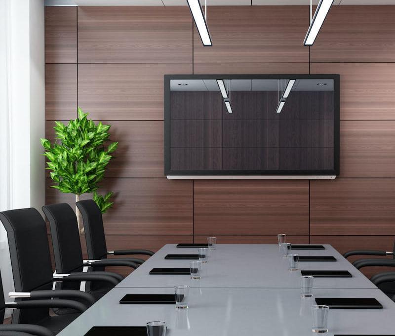 wyposażenie sal konferencyjnych